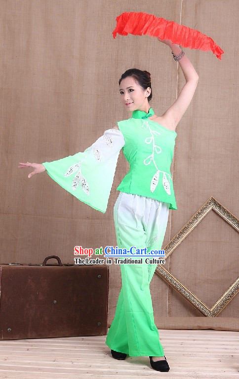 Chinese Festival Celebration Jasmine Blossom Dance Costume