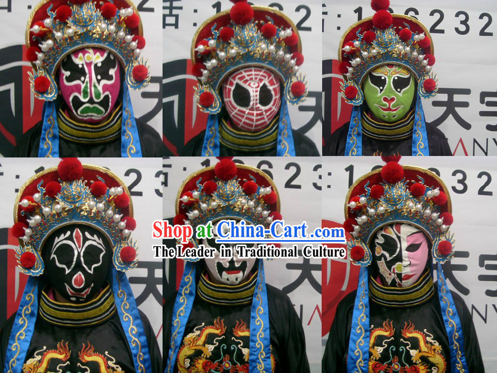 Handmade Mysterious Chinese Sichuan Arts Changing Mask