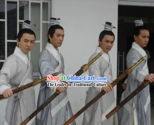 Ancient Chinese Kung Fu Apprentice Costume for Men