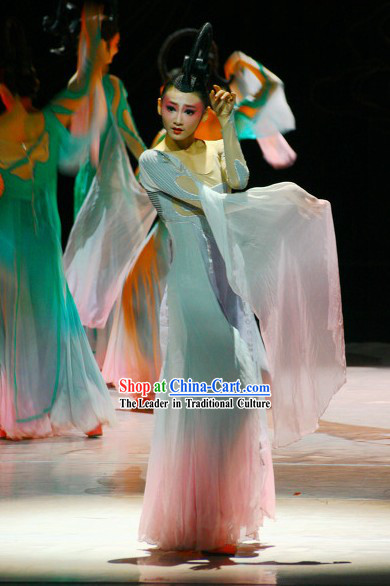 Chinese Classical Fairy Dance Costumes for Women