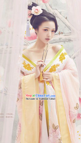 Chinese Tang Dynasty Palace Empress Costume for Women