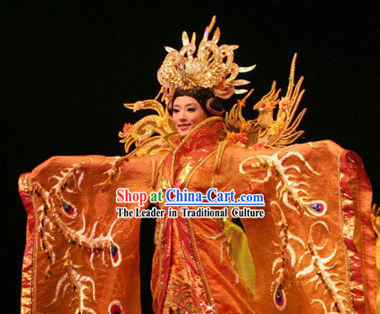 Ancient Chinese Empress Stage Performance Costumes