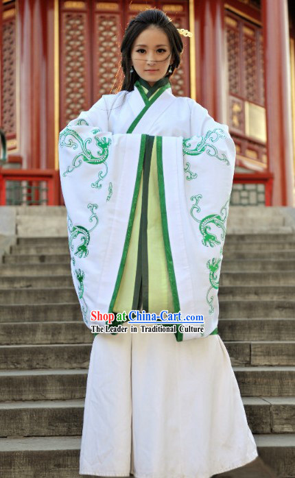 Ancient Chinese Style Hanfu Princess Phoenix Clothing for Women