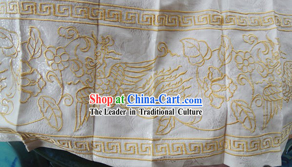 Ming Dynasty Princess Embroidered Phoenix Clothing Complete Set