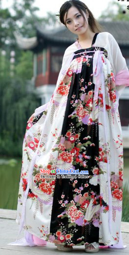 Tang Dynasty Wu Zetian Costumes Complete Set for Women