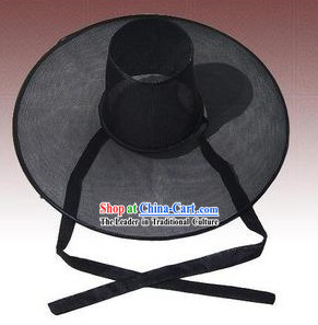 Black Ancient Korean Ceremonial Hat for Men