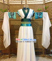 Traditional Chinese Cosplay Swordwoman Clothes Outfit Complete Set for Women