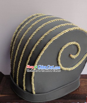 Ancient Chinese Handmade Zhuge Liang Hat for Men