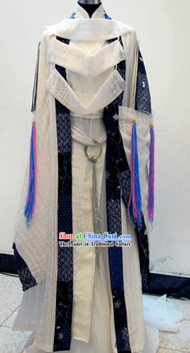 Ancient Chinese Magic Prince Cosplay Costumes Complete Set for Men