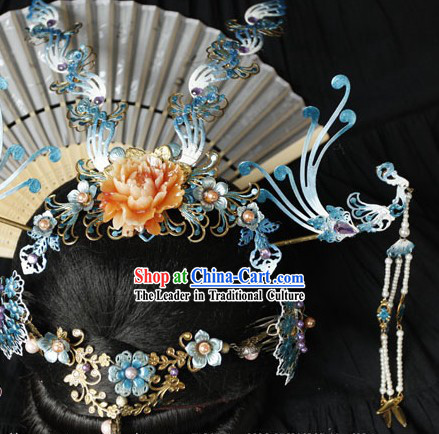 Ancient Chinese Wedding Attire Phoenix Wedding Headwear
