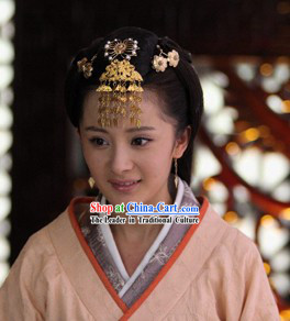 Ancient Chinese Imperial Palace Royal Empress Hair Accessories Complete Set