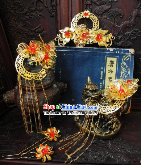 Handmade Traditional Chinese Bridal Headpieces