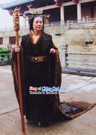 Ancient Chinese Han Dynasty Queen Clothes Complete Set