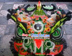 Traditional Fut San Style Lion Dance Costumes Complete Set
