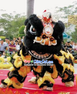 Competition Celebration and Parade Supreme Lion Dance Costumes Complete Set