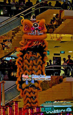 Holiday Play and Display Lion Dance Costume Complete Set
