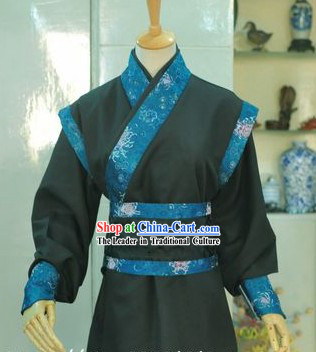 Ancient Chinese Black Paladin Costumes for Boys