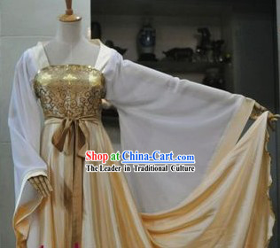 Ancient Chinese Tang Dynasty Girl Costume