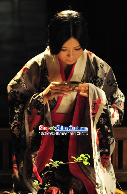 Ancient Chinese Beauty Hanfu Clothing Complete Set for Women