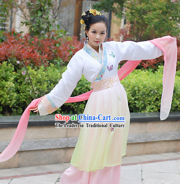 Ancient Chinese Butterfly Clothing for Women