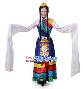 Traditional Tibetan Clothing for Women