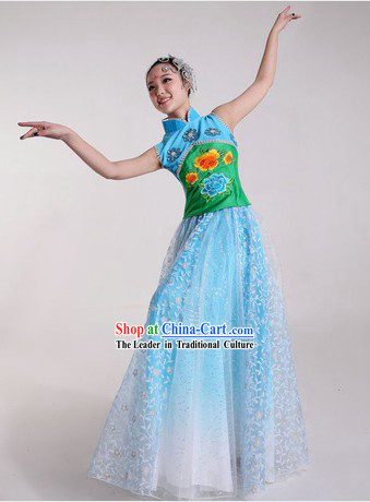 Chinese Classical Stage Performance Costumes and Headpieces