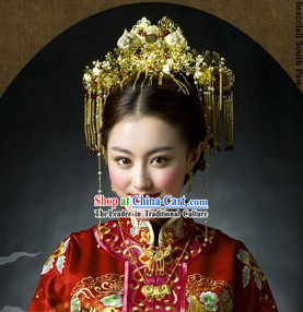 Chinese Classical Wedding Bridal Hair Accessories Complete Set