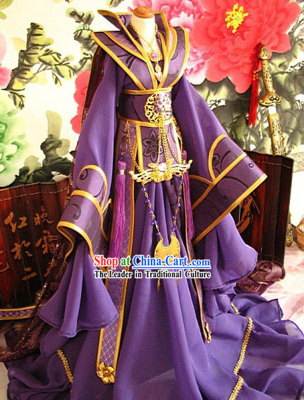 Ancient Chinese Imperial Princess Hanfu Clothes for Men