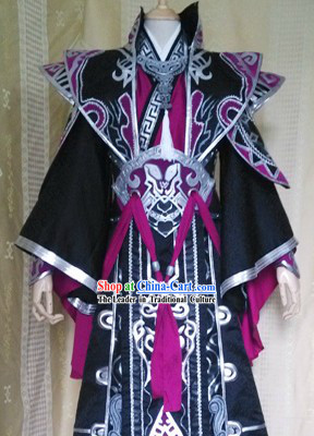 Chinese Ancient Emperor Costumes Cosplay Complete Set