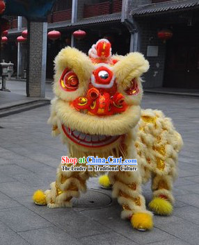 Lucky Opening and Celebration Lion Dance Costume Complete Set