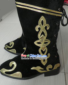 Mongolian Dance Boots for Men or Women