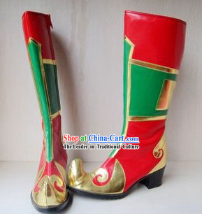 Mongolian Dancing Long Boots for Women