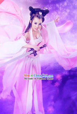 Qian Nv You Hun Sexy Swordswoman Xiao Qian Costumes Complete Set