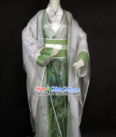 Ancient Chinese Kung Fu Master Costume for Men