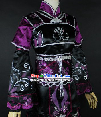 Ancient Chinese Purple LOLI COS COSPLAY Costumes for Women