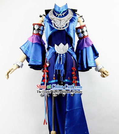 Traditional Ancient Chinese Xian Jian Qi TVB Drama Yuan Princess Costumes for Women