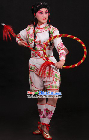 Nezha Divine Warrior in Chinese Mythology Costumes Complete Set