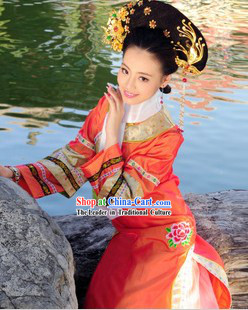 Ancient Chinese Imperial Wife of Emperor Costumes
