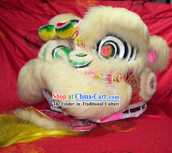 Professional Worldwide Competition and Festival Performance Fut San Lion Dance Costumes Complete Set