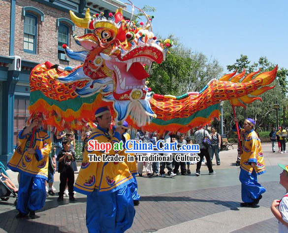 Holiday Parade Celebration Southern Dragon Dance Costumes Complete Set