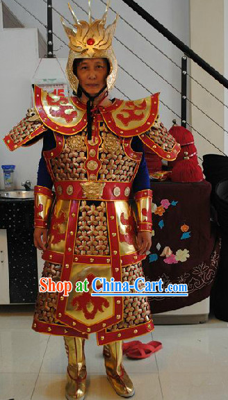 Professional Monkey King Sun Wukong Armor Costumes Complete Set