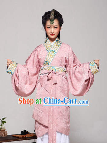 Chinese Traditional Princess Dress Costume Clothes Complete Set