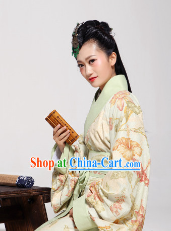 Chinese Traditional Han Dynasty Royal Family Female Outfit Complete Set