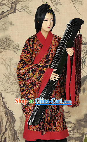 Ancient Chinese Imperial Palace Female Princess Outfit Complete Set