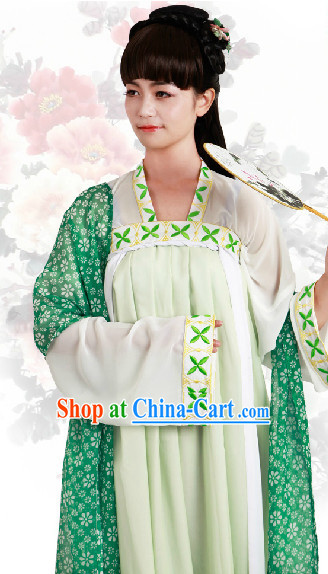 Ancient China Tang Dynasty Clothing for Women