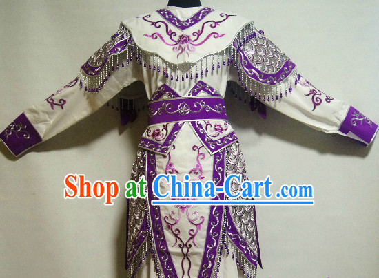 Chinese Ancient Female Warrior Armor Costumes