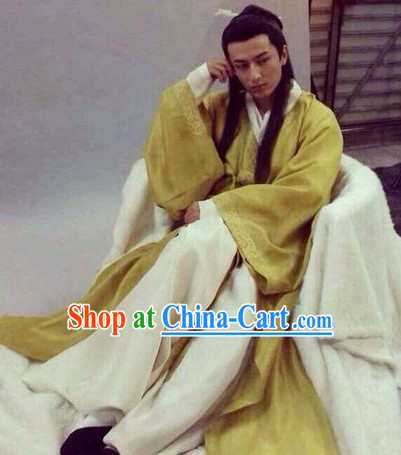 Ancient China Han Dynasty Royal Hanfu Clothes for Men