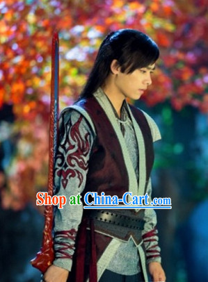 Li Yifeng Swordsman Costumes and Cuff Complete Set