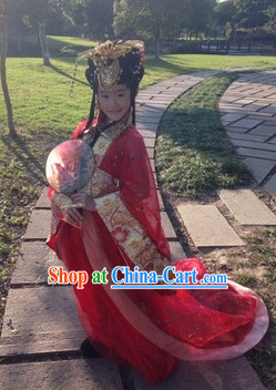 Ancient Chinese Princess Hair Accessories for Children