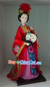 Handmade Beijing Silk Figurine Doll - Ancient Chinese Beauty 4